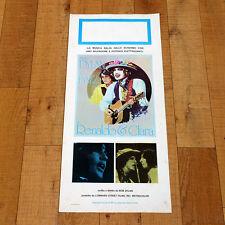 RENALDO E CLARA locandina poster affiche Bob Dylan and Joan Baez Folk Music