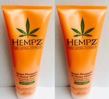 2 Hempz Sweet Pineapple Honey Melon Moisturizing Body Wash 8.5 oz by Supre