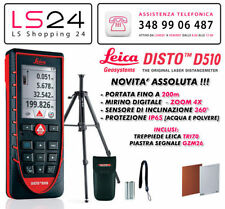 Leica DISTO D510 Nuovo Modello + TRI 70 - Compatibile con Apple Iphone & Ipad