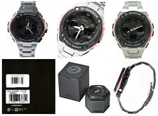 Casio G-Shock G-Steel GSTS100D-1A4 Tough Solar Double LED Men's Watch
