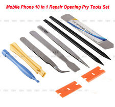 New 10pcs Phone Repair Opening Pry Tools Set Spudger Tweezer Kit For Cell Phone