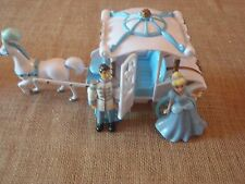 Polly Pocket Disney Princess Carriage Cinderella Prince Charming Lot