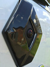 Renault Clio 4 MODELS WITH REAR CAMERA (2013+) -REAR GLOSS BLACK BADGE COVER