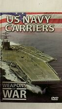 Weapons of War U.S. Navy Carriers DVD and Booklet
