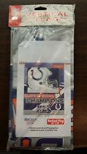 "INDIANAPOLIS COLTS SUPER BOWL CHAMPIONS NFL 27""X37"" FLAG NEW  MADE IN THE USA"