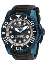 New Big Invicta 14667 Men's Pro Diver Black Dial Dive Sport Watch