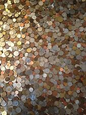 ~FOREIGN PICKERS SPECIAL~ Five 5 FULL LB POUND ~ OLD WORLD COINS LOT~