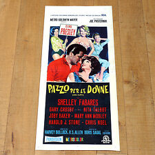 PAZZO PER LE DONNE locandina poster Girl Happy Elvis Presley Shelley Fabares B32