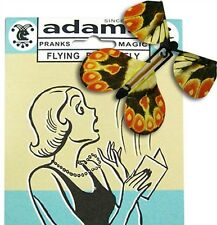 FLYING BUTTERFLY - ADAMS MAGIC TRICK PRANK NOVELTY JOKE KIDS PARTY TOY AMUSEMENT
