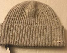 POLO RALPH LAUREN Classic Cuffed HAT BEANIE Cloud  100% Merino Wool