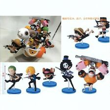 ONE PIECE STRONG WORLD FULL SET ACTION FIGURE RUFY ZORO CHOPPER SANJI FRANKIE #1