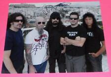 ANTHRAX x3 IAN BELLADONNA ROB C SIGNED AUTOGRAPHED 11x14 PHOTO  *EXACT PROOF*