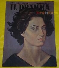 IL DRAMMA 1956 n. 237 - Copertina Carlo Guarienti - Opere: vedi inserzione