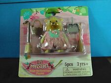 New Lil Woodzeez( like Sylvanian Families)  Moppy Swifysweeper  playset