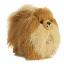 New AURORA MIYONI Stuffed Plush Toy POMERANIAN POM Soft Animal PUPPY DOG Pommy