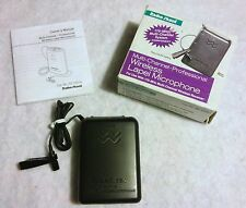 NEW - RADIOSHACK Multi Channel Professional Wireless Lapel Microphone 320-1231A