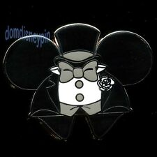 Disney Pin *Mickey Ear Hat* Character Mystery Collection 2 - Groom Outfit!