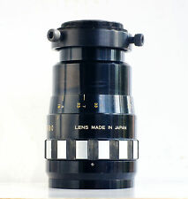 Sankor 35j 35mm Anamorphic lens + Anamoprhic clamp with 58mm filter thread
