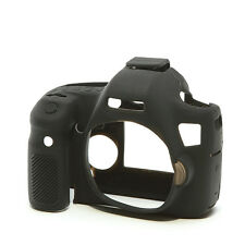 easyCover Pro Silicone Skin Camera Armor Case to fit Canon EOS 6D DSLR - Black
