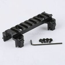 Tactical Metal Low Profile Rail Scope Mount Base for G3 / MP5 Series Rifle AEG
