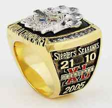 Pittsburgh Steelers 2005 Super Bowl XL Replica Ring