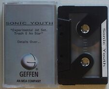 SONIC YOUTH Experimental Jet Set RARE Acetate TAPE PROMO Geffen CASSETTE 1994
