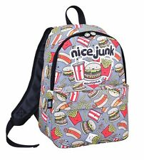 DAVID AND GOLIATH - JUNK FOOD SCHOOL BACKPACK - GREY