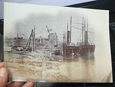 Low Walker Shipyard Newcastle Upon Tyne interesting rare large albumen photo s6