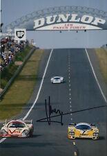 Klaus Ludwig Hand Signed 12x8 Photo Porsche Le Mans.