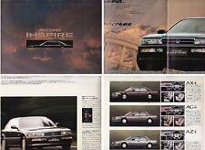 1990 HONDA ACCORD INSPIRE 4 DOOR HARDTOP JDM 20 Page Prestige Brochure