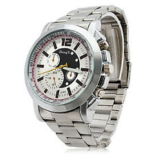 Men's Quartz PU Analog Watch