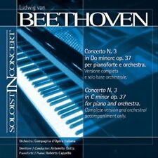 Music Minus One Piano: Beethoven Piano Concerto No.3 in C-minor, op.37 (Soloist-