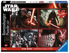 PUZZLE RAVENSBURGER 06850 STAR WARS 4 x 100 Piezas - Star Wars Jigsaw - Disney