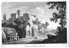 SIENA - Acquaforte francese (C. Bourgeois) originale del 1804