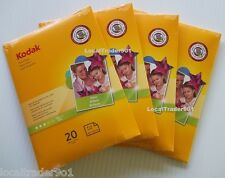 KODAK PHOTO PAPER GLOSS 80 SHEETS 4x6 Lexmark Dell Epson HP Canon 48 lb