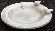 Vogeltränke, Vogelbad, Keramik glasiert, Vintage, Ø 35 cm