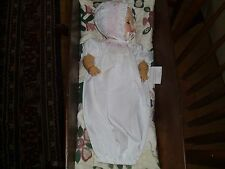 "15"" TINY TEARS BETSY WETSY EFFANBEE BEAUTIFUL SMOCKED DAYGOWN& BONNET NO DOLL"