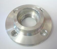 "2"" Face Plate, Aluminum, 3/4-16 Threaded for Easy Wood Lathe Bowl Turning New"