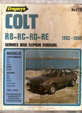 #M2.  CAR WORKSHOP MANUAL - MITSUBISHI COLT 1982-1990, MAJOR DAMAGE