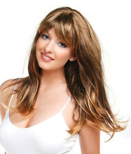 Forever Young Long Ladies Straight Faceframe Honey Blonde Wig! Premium Full Wig