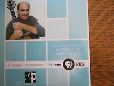 A TRIBUTE TO JAMES TAYLOR EMMY DVD PBS KEITH URBAN BRUCE SPRINGSTEEN CAROLE KING