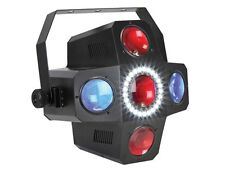 JEU DE LUMIERE MULTICOLORE DMX EFFET FLOWER 114 LED + STROBOSCOPE STROBE DANCER