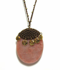 Funky Lydell NYC Faceted Stone Pendant Necklace