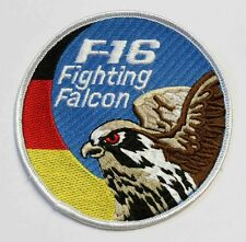German Air Force F-16 Fighting Falcon ca 10cm nur zum aufnähen