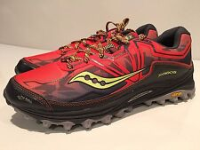 Saucony Xodus 6.0 Men's Trail Running Athletic Shoes Size 11.5