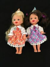 Birthday Fun Mattel Kelly & Chelsea Lot Of 2 Dolls W/outfits Newly Deboxed