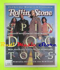 ROLLING STONE USA MAGAZINE 647/1993 Gang Bang Bang Spin Doctors  No cd