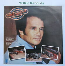 MERLE HAGGARD - My Love Affair With Trains - Ex Con LP Record Capitol E-ST 11544