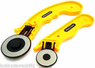 Rotary Cutter Quilting Cuttering Tool Cut Fabric Leather Paper Vinyl Rotary New