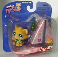 L1 Littlest Pet Shop Target exclusive camping kitty with tent  new in package